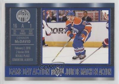2016 Upper Deck Tim Hortons Collector's Series #GDA-7 Connor McDavid Hockey Card