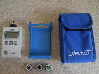 Noyes OPM 4-4C CATV Optical Power Meter in excellent condition with accessories