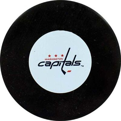 Washington Capitals NHL Logo Collectors Puck