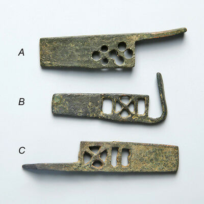 Roman Bronze Key Door Lock Bolts