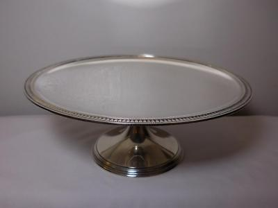 Tiffany Co  Sterling Silver Cake Stand