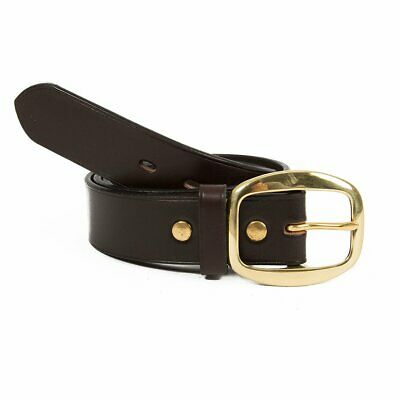 NEW Genuine Australian Leather Removable Buckle Belt