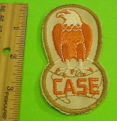 Vintage  Case  Tractor  Patch (  Eagle )  New  Never Used Free Shipping !!!