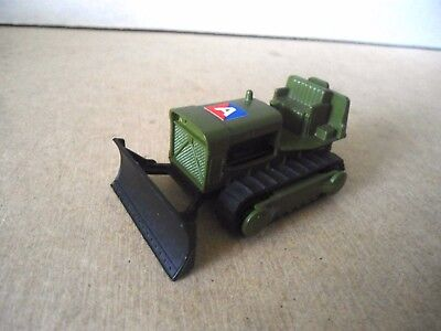 Matchbox Superfast no.16 CASE Military Bulldozer Tractor. Vintage Diecast.