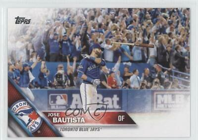 2016 Topps #96 Jose Bautista Toronto Blue Jays Baseball Card
