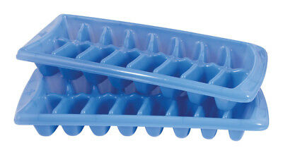 Rubbermaid Ice Cube Tray Blue. 2 pack NEW