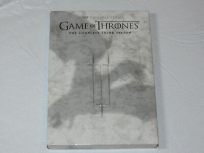 Game of Thrones The Complete Third Season DVD 2016 5-Disc Set Peter Dinklage