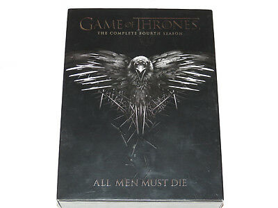 Game of Thrones The Complete Fourth Season All Men Must Die DVD 2015 5-Disc Set
