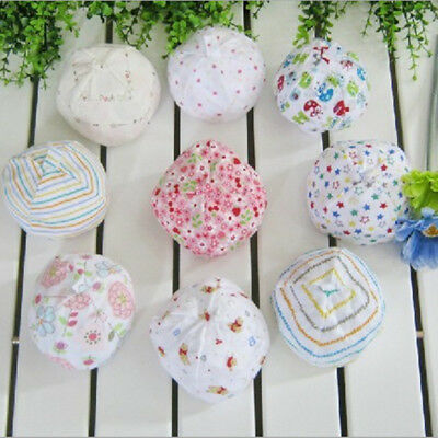 Infant Baby Toddler Cotton Soft Beanie Cute Cap Newborn Hat For 0-3 Months