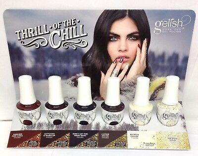 Harmony Gelish - THRILL OF THE CHILL 2017 Collection - Pick Any Shade .5oz