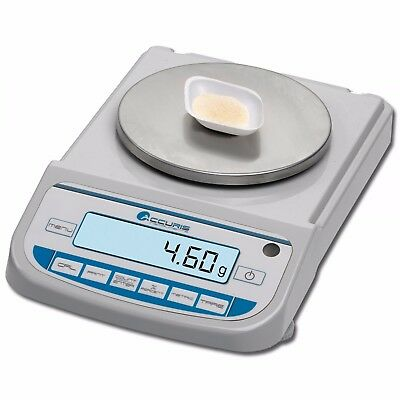 NEW ! Accuris Precision Balance, 3200g x 10mg, Backlit LCD DIsplay, W3200-3200