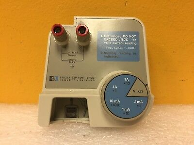 HP / Agilent 97002A 2 mA Max, 500 V, Component Shunt. For 970A Meter. Tested!