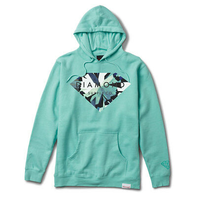 c19cc63d2799 DIAMOND SUPPLY CO. Men s Simplicity Brilliant Pullover Hoodie Cream ...