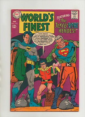 World's Finest #173 - 1st App Silver Age Two-Face! - (Grade 7.0) 1968