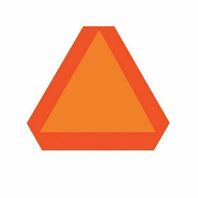 Warning Alert Slow Moving Vehicle Reflective Triangle Deflect Golf Cart Car
