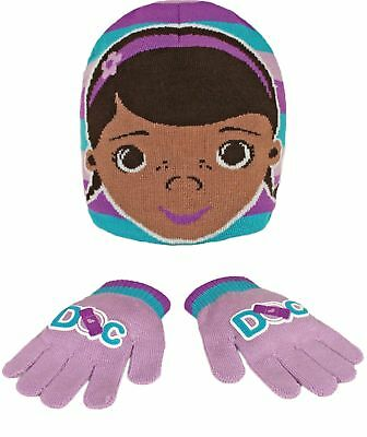 Disney Girls Hat and Glove Set Multicoloured Multicoloured by Disney (b9A)