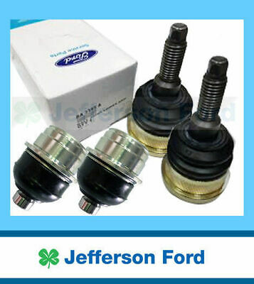 Set Of 4 Genuine Ford Au Ba Bf Falcon Front Upper & Lower Ball Joints