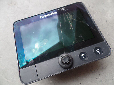 Raymarine Dragonfly E70231 Fish Finder GPS boat part 10 pin - cracked screen