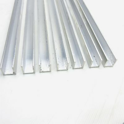 ".125"" thick Aluminum CHANNEL 1'' wide & 1"" leg, 32"" long QTY 7  sku 137724"