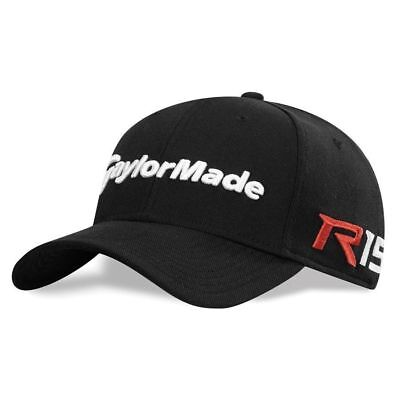 c1ce60ae3e18d NEW TaylorMade R15 Aero Burner New Era 39 Thirty Black Fitted Men Hat Golf  Cap