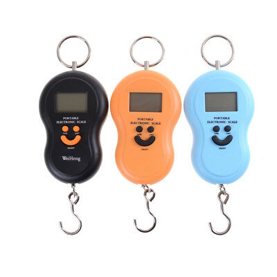 Portable Hanging Scale 50Kg /10g LCD Digital Blue Backlight Luggage Scale WL