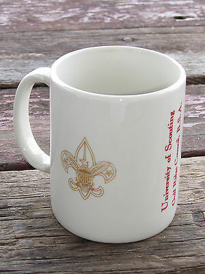 Vtg University Of Scouting-Gulf Ridge Council-Bsa-Boy Scouts-America Coffee Mug