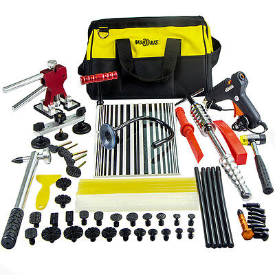 PDR Paintless Dent Repair Tools Hail Puller Lifter Remove Hammer Glue Sticks Kit
