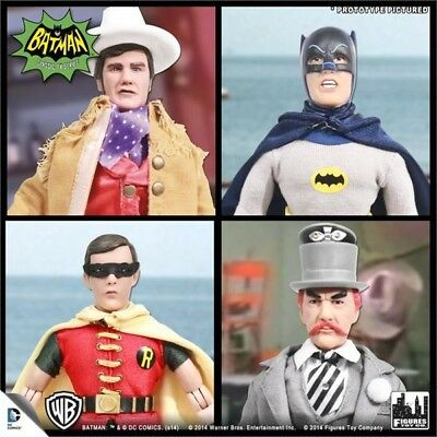 DC Batman Classic Action Figures Old TV Robin Mad Hatter Shame Cloth Outfit