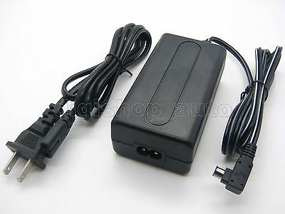 AC Adapter Supply For AC-PW10AM SONY Alpha DSLR SLT-A77VK SLT-A77VQ NEX-VG10E