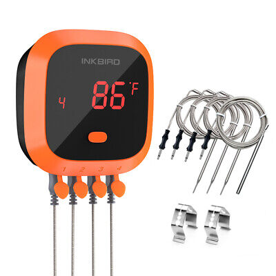 Inkbird IRF-2S wireless Cooking thermometer BBQ Grill Oven Roast meat Beef AU