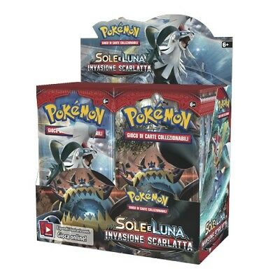 POKEMON INVASIONE SCARLATTA  BOX 36 BUSTE in ITALIANO