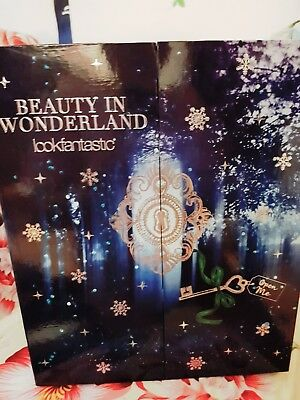 Lookfantastic 2017 Beauty In Wonderland Advent Calendar (£300 Items included)New