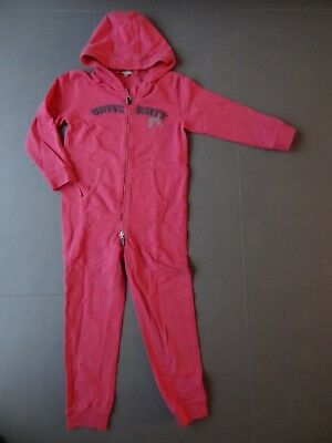 Tolles kuscheliges Jumpsuit Overall Jogger Vertbaudet 9 Jahre /128/134 pink TOP