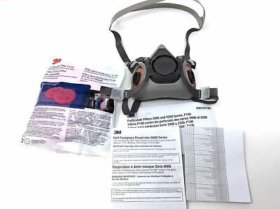 (Closeout) 3M 7182 Half Facepiece Respirator Mask for Welding, Medium