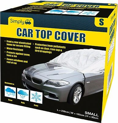 Simply Water Rain UV Sun Frost Resistant Fully Breathable Car Top Cover - Small