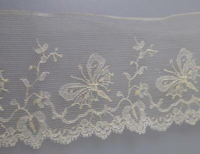 ANTIQUE LACE HANDMADE? BUTTERFLY DESIGN EARLY 1900s