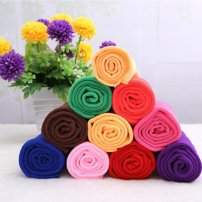 Large 8 Colours Absorbent Microfiber Fiber Bath Bathroom Car Towel Washcloth Hot