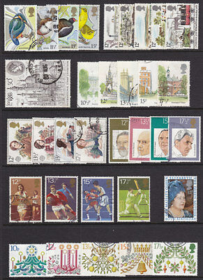 1980 Complete Commemorative Year Set ( 9 Sets ) Used