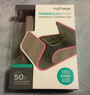 My Charge Power Gear Sport Wearables Charging Case NIP