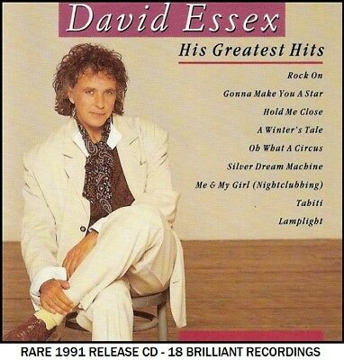 David Essex - The Very Best Greatest Hits Collection RARE 1991 CD 70's 80's Pop