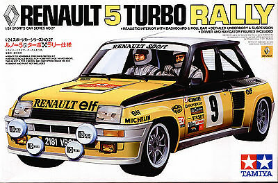 renault r5 turbo rally 1 24 tamiya 24027 eur 22 90. Black Bedroom Furniture Sets. Home Design Ideas