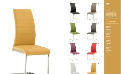 Prime New Multi Colour Modern Contemporary Soho Dining Chairs In 8 Caraccident5 Cool Chair Designs And Ideas Caraccident5Info