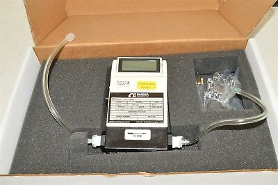 Omega Engineering FMA-5606 0-500 SCCM electronic air flow meter controller