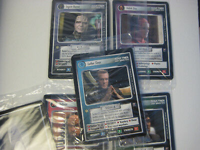 STAR TREK CCG Second Anthology Sealed Limited Edition Card Set