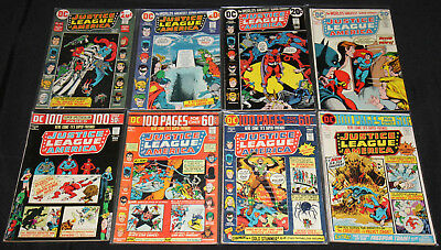 DC Bronze-Copper Age JUSTICE LEAGUE OF AMERICA 97pc Mid Grade Comic Lot FN-VF