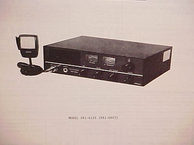 1976 Jcpenney Cb Radio Service Shop Manual Model 1973 jcpenney cb radio service shop manual model 981 6075 (pinto  at bayanpartner.co