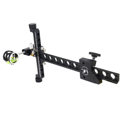 Single Pin Bow Sight Archery Hunting Compound Bow