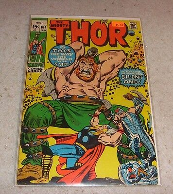 Thor #184 The World Beyond! January 1971 Marvel