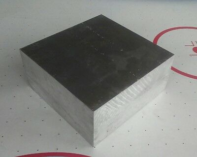 "Aluminum stock 6061, 2"" X 4"" X 4"", new cnc machining tool block"
