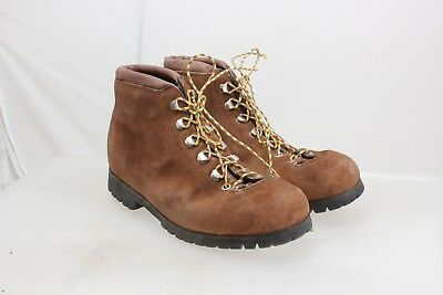 52c1b63f8cf FABIANO BROWN SUEDE Hiking Mountain Boots Women's 9 N Italy Vintage